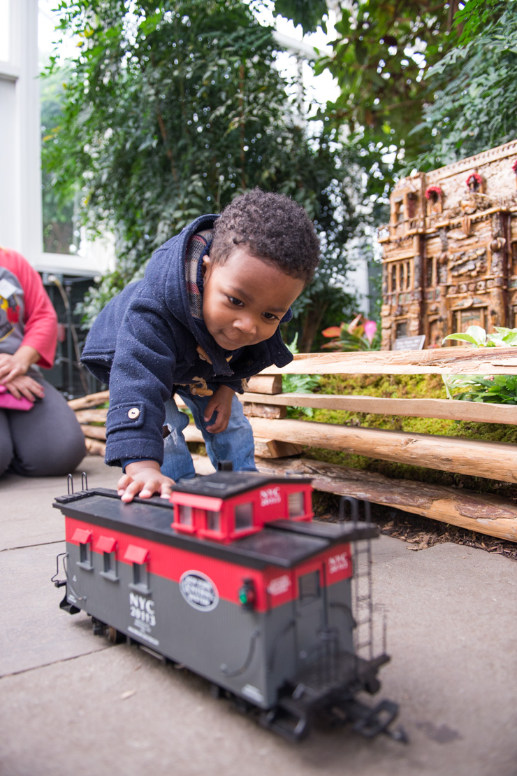 the holiday train show at ny botanical garden u2013 storied and styled