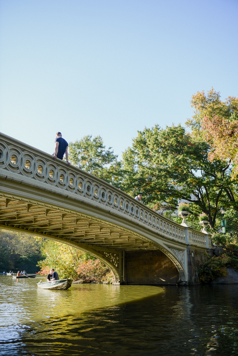 Bow Bridge in Central Park