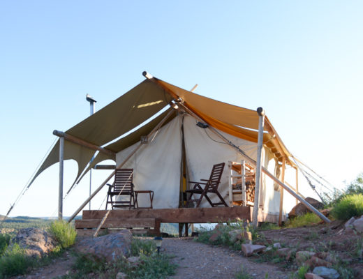 Glamping near Zion National Park